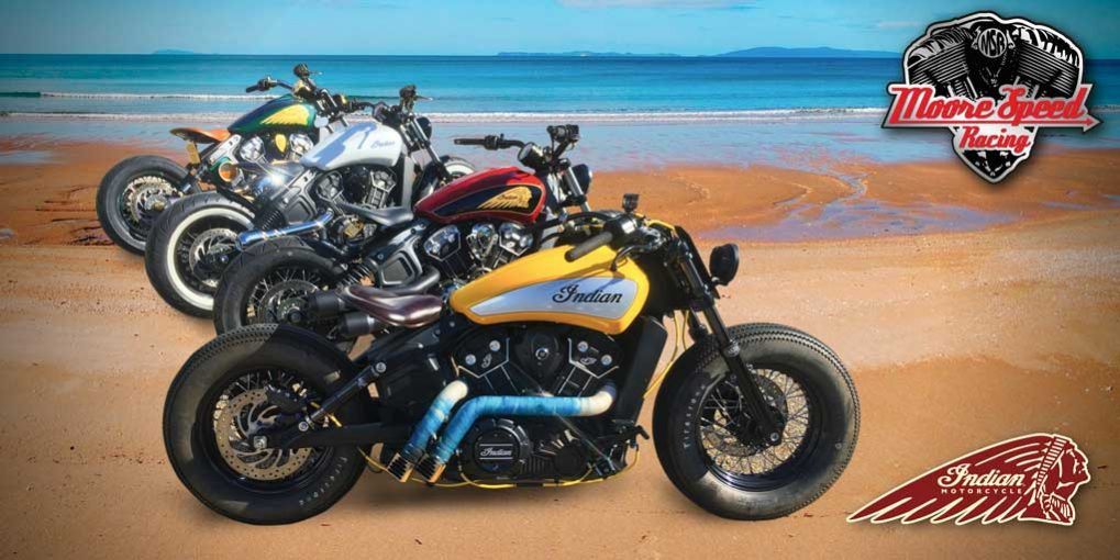 Indian Scout Custom Bobber build - Bournemouth Motorcycles