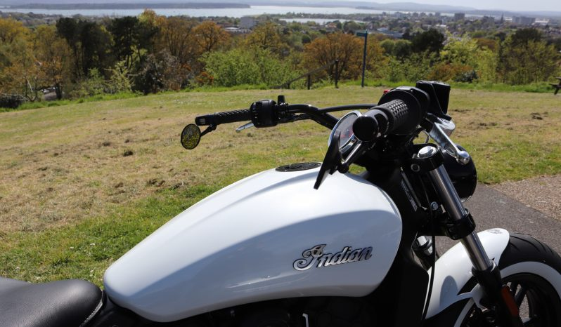 Indian Scout Sixty MSR Bobber full