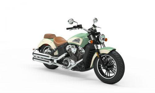 2019 indian scout Willow Green over Ivory Cream