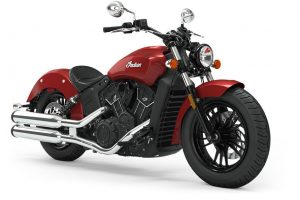 2019 indian Scout Sixty Ruby metallic