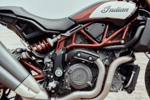 2019 Indian FTR Powertrain engine