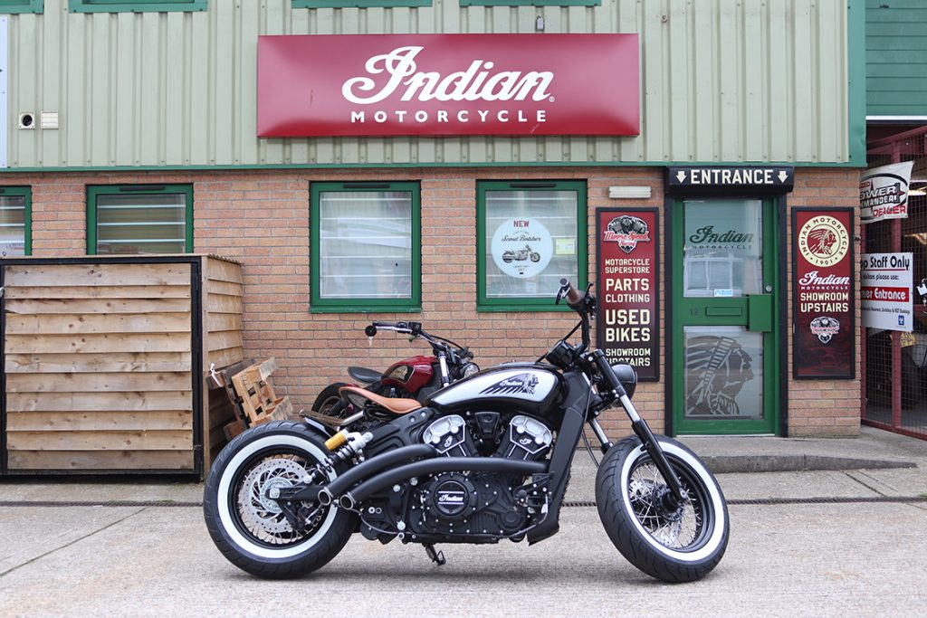 Custom Indian Scout Build - Bournemouth Motorcycles
